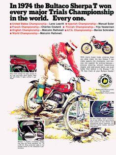 1974 Bultaco Sherpa T Ad | Flickr - Photo Sharing!
