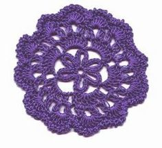 Crochet Accent Coaster