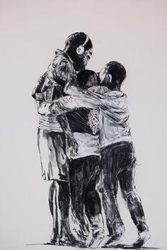 Nelson Makamo, 'Bonded Life,' 2017, Gallery of African Art (GAFRA)
