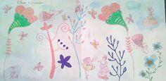 Η μικρή Έλενα μας χάρισε τούτη τη ζωγραφιά. Ευχαριστούμε Έλενα!! Napkins, Tableware, Dinnerware, Dishes, Napkin