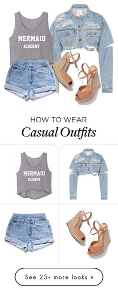 """""""Random#9"""" by cfull on Polyvore featuring Schutz and Levi's"""