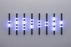 Allusion, 2014  LED, acrylic glass, aluminum  100 x 254 x 8 cm  photo: Wolfgang Stahl