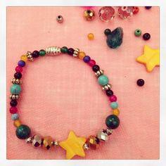 Bracelet étoile, collection été 2014