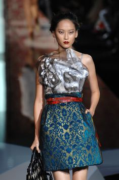 Dolce & Gabbana at Milan Fashion Week Spring 2008 - Runway Photos