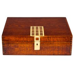 Josef Hoffmann Wiener Werkstatte Humidor Box | From a unique collection of antique and modern boxes at http://www.1stdibs.com/furniture/more-furniture-collectibles/boxes/