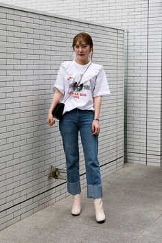 PANTS | #ZARA SHOES | #ZARA Lee Yuna, Street Fashion 2017 in Seoul
