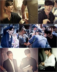 """Park Hae Jin Flashes His Charming Smile Behind the Scenes of """"Bad Guys"""""""