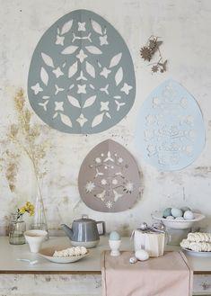DIY Pâques: des oeufs en papier découpé - Marie Claire Idées