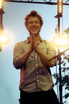 Ted Dwane of Mumford and Sons