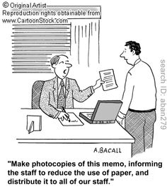 Still waiting for the paperless office of the future!