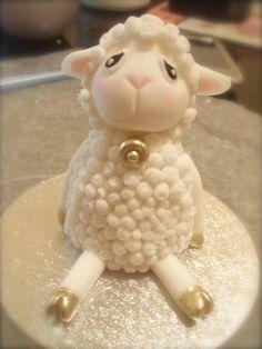 lindo pastel de ovejita