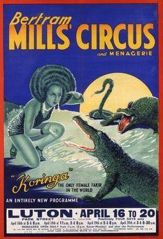 Bertram Mills Circus poster, W.E. Berry of Bradford (printers), Luton, England, 1938