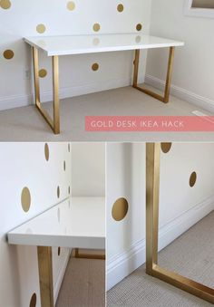 Updating Ikea desk  @Ari Simon Simon Abeyta It would be fun to paint the legs of her desk (whichever one you choose)