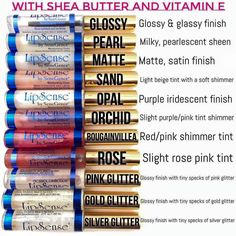 LipSense Lip Colors are perfect for any skin tones: light & fair or warm & dark. Check out the LipSense Color Swatches to match a color & view the Photo Gallery Distributer Number: 397116 Lipsense Lip Colors, Gloss Lipsense, Senegence Makeup, Senegence Products, Kiss Proof, Lip Service, It Goes On, Pink Lips, Red Lips