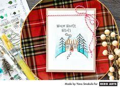 Warm Winter Wishes by Yana Smakula for Hero Arts