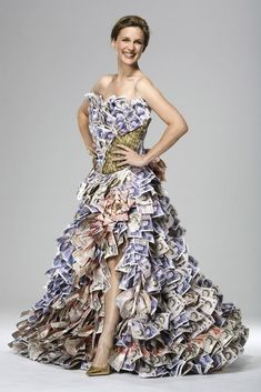 If a dress cost you £50,000, it better look like £50,000.