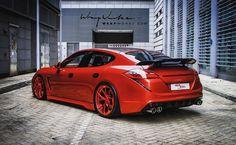 Custom Porsche Panamera Turbo by Reinart Design   automotive99.com