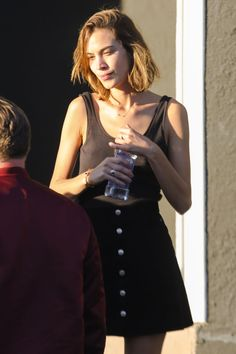 Alexa Chung | alexachungdirectory: Alexa Chung out and about...