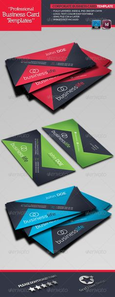 Design world business card pinterest business cards business corporate business card template graphicriver corporate business card template fully layered indd fully layered psd 300 dpi cmyk idml format open indesign reheart Image collections