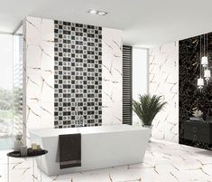 Kajaria assures you of the high-standard of Bathroom tiles in Nagole Hyderabad. Kajaria offering an awestruck design and outstanding quality of kitchen tiles, wall tiles, bathroom tiles, and floor tiles in Nagole Hyderabad at affordable prices. Bathroom Wall Tile, Room Tiles, Tiles, Showroom Interior Design, Amazing Bathrooms, Tile Showroom, Bathroom Wall, Tile Bathroom, Modern Tiles