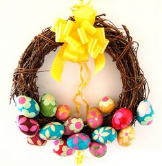 Image detail for -Easter Wreath – Creating Fun and Interesting Festive Decorations ...