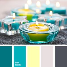 almost black colour, blue and yellow, dark gray, gray and turquoise, gray and yellow, shades of blue, shades of gray, shades of turquoise, shades of turquoise and gray, turquoise, turquoise and gray, turquoise and yellow,