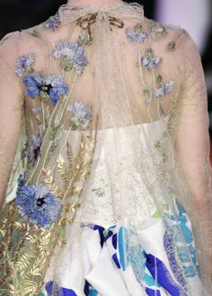 Christian Lacroix Embroidery Couture