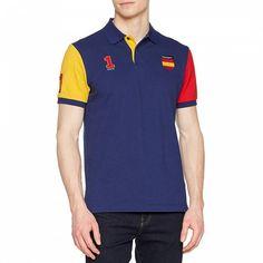 Hackett British Polo DRY short-sleeved shirt Medium Blue NUM 1 BNWT Stretch FIT