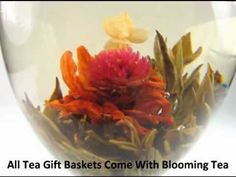 Tea Gifts / Blooming Flower Tea looks really cool & tastes great too!