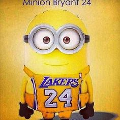 Minions Lakers!!!! Baby!!!!