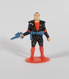 Trash Bag Bunch - Dr. Sheen Mini Toy Figure - Galoob 1991 - 5.5cm Tall (1)