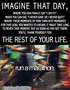 Run a #marathon!