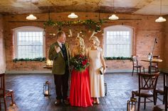 One of our stunning brides with her proud mum and dad Hair & Makeup WHAM Artists http://weddinghairandmakeupartists.com/
