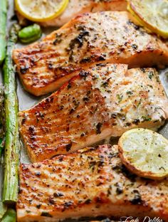 Healthy Baked Salmon Recipes Without Lemon.Baked Salmon In Foil Easy Healthy Recipe. One Pan Lemon Garlic Baked Salmon Asparagus Cafe Delites. 24 World Class Salmon Recipes Perfect For Every Occasion. Baked Salmon And Asparagus, Baked Salmon Recipes, Asparagus Recipe, Fish Recipes, Seafood Recipes, Dinner Recipes, Garlic Salmon, Lemon Salmon, Grilling Recipes