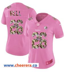 New Nike Bears #34 Walter Payton Pink Women's Stitched NFL Limited Rush  supplier
