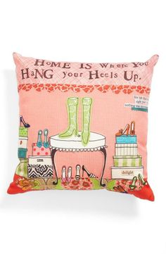 Home is where you hang your heels up.