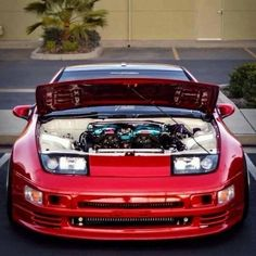 Tidy engine bay 300zx