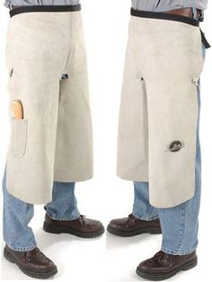 Tough-1 Farrier Apron . $39.90. From Tough-1 Premium quality farrier apron with knife pocket, snaps, and circular magnet to secure loose nails. Super tough gray blacksmith suede with an adjustable belt. Fleece padded knees for extra protection. Full length cut. Adult size.
