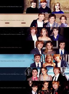Hogwarts Alumni: Harry Potter Cast Evolution