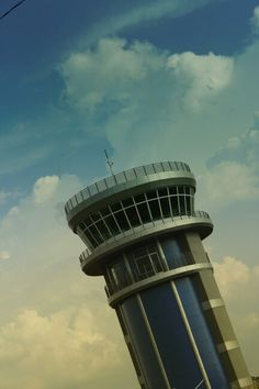 Sultan Thaha Airport Tower, Jambi - Indonesia.