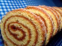 Aprenda a fazer um delicioso Rocambole doce de com recheio de goiabada cremosa e açúcar de confeiteiro polvilhado! #sweet #rocambole #goiabada