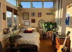 Cheap Home Decor .Cheap Home Decor Room Ideas Bedroom, Bedroom Inspo, Bedroom Decor, Design Bedroom, Bedroom Ideas For Small Rooms, Small Room Interior, Nature Bedroom, Small Apartment Bedrooms, Interior Livingroom