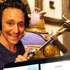 Tom Hiddleston as the voice of Lord Nooth in Early Man (2018)