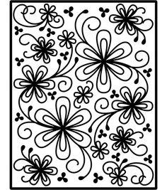 Spellbinders Impressabilities Dies - Flower Silhouette & dies & accessories at Joann.com