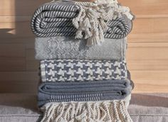 Brahms Mount crafts premium cotton, linen and wool blankets, throws and towels on antique shuttle looms in Maine, USA Alpaca Throw, Stripes Design, Wool Blanket, American Made, Antiques, Maine, Cotton, Fleece Blanket Edging, Antiquities