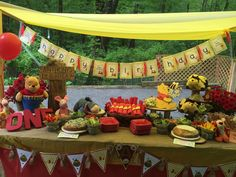 Winnie the Pooh Birthday Party Ideas | Photo 10 of 18 | Catch My Party