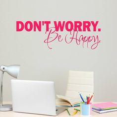 Be Happy! Why Worry? ~ http://www.brainwavemaster.com/be-happy-why-worry/ #DontWorryBeHappy #Happy #Happiness #Positive