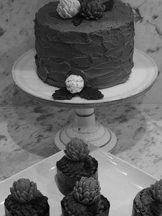 Having a fun food photo session - again I like the black and white image