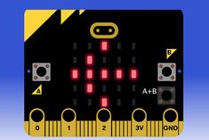 Picture of Micro: Bit Fundamental Course--Button&Display Small Computer, Robot Kits, Stem Projects, How To Start A Blog, Maker Space, Coding, Buttons, Display, Teaching