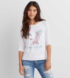 AEO Soft & Sexy Graphic T-Shirt